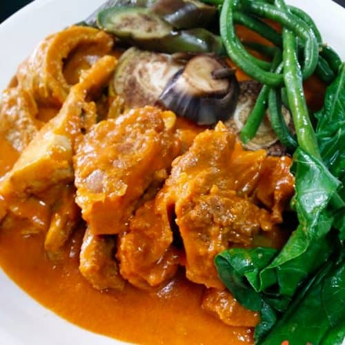 Kare-Kare beef curry