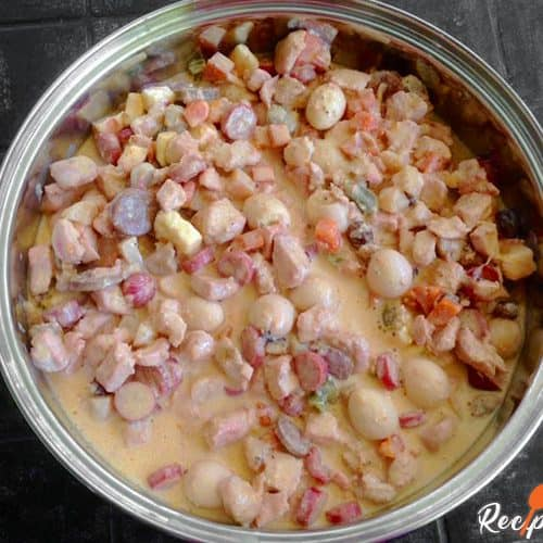 Chicken Pastel Recipe