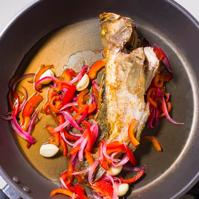 Escabeche fried fish