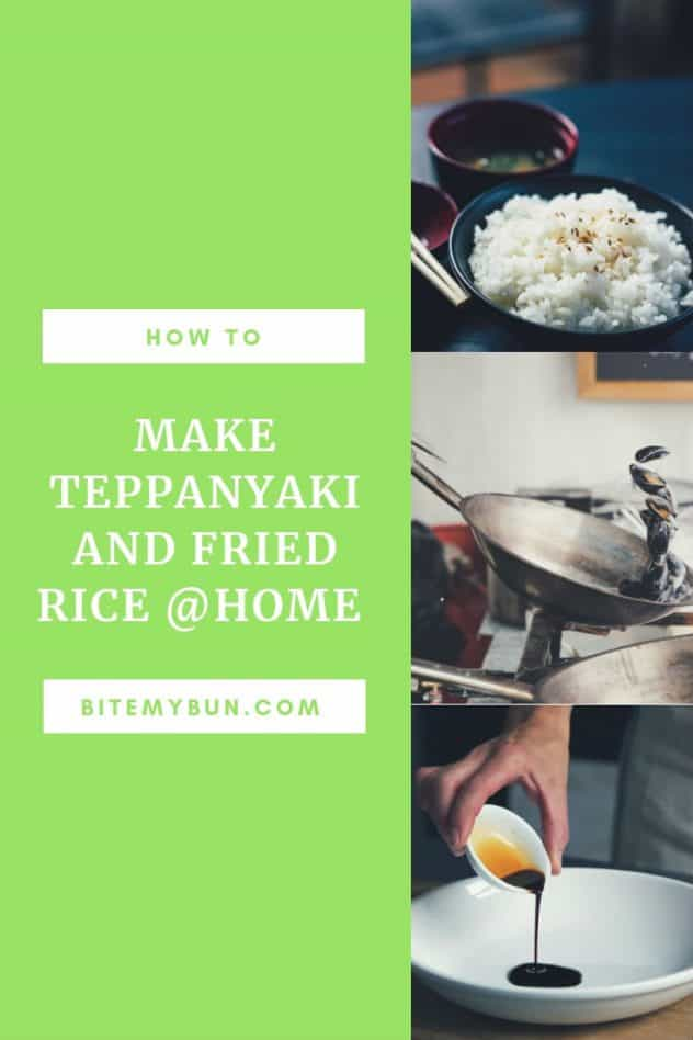 how to make teppanyaki and fried rice at home