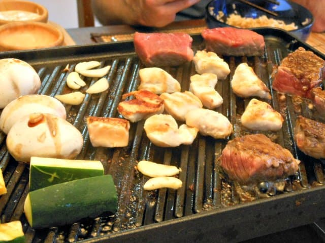 One of the best teppanyaki grill plates