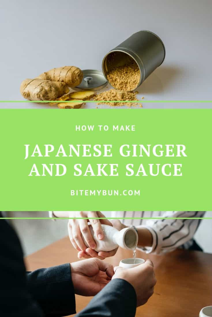 How to make japanese ginger and sake sauce
