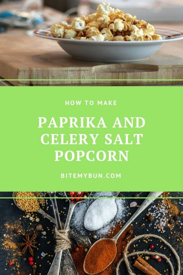 How to make paprika and celery salt popcorn