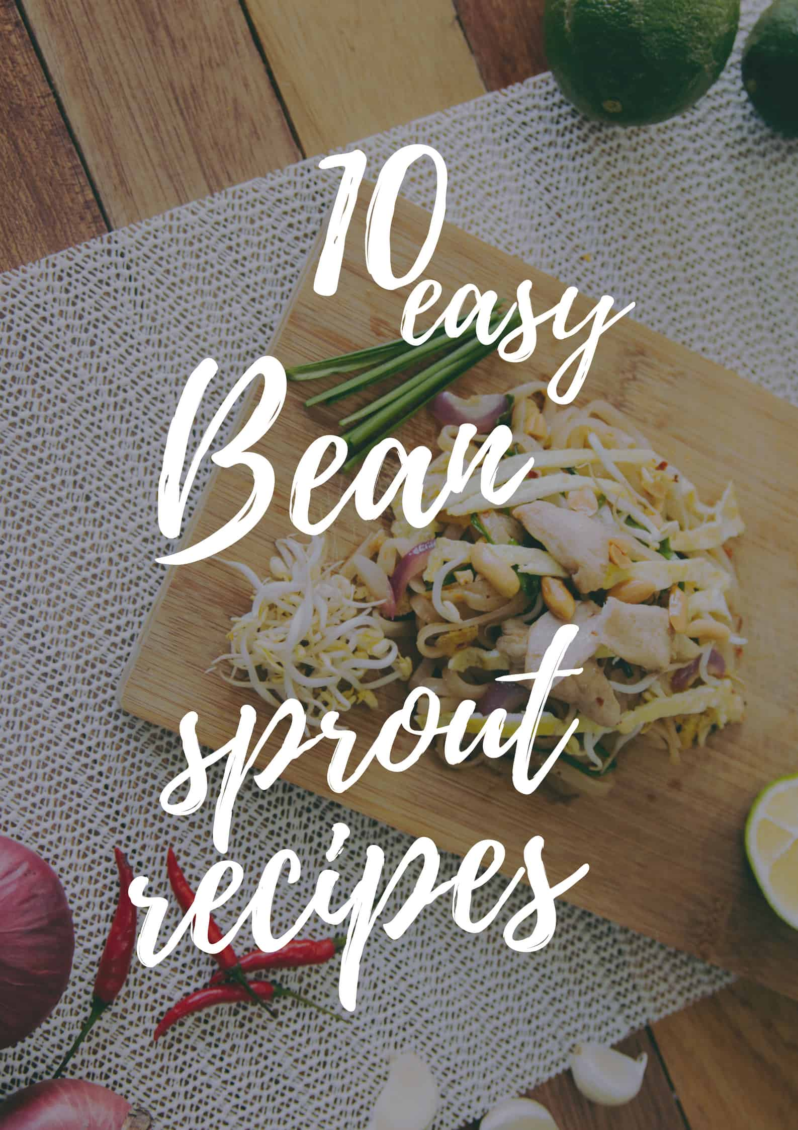 10 easy bean sprout recipes