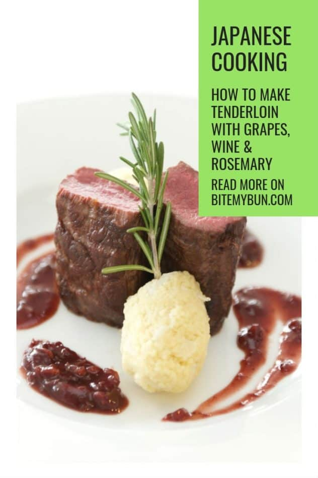 How to make pork tenderloin with grapes wine and rosemary