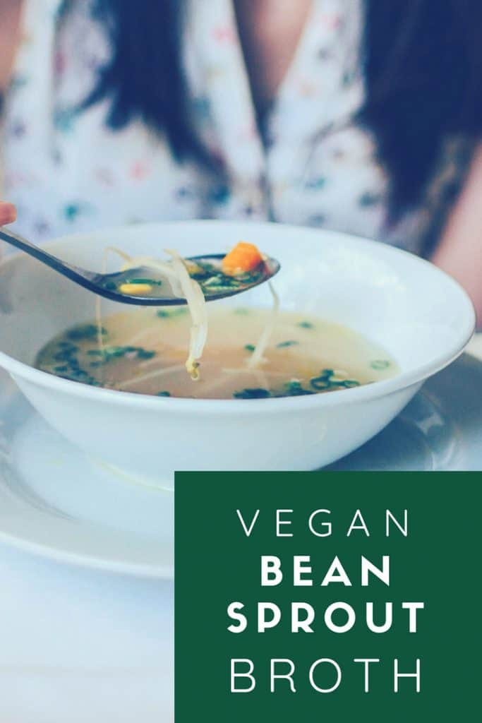vegan japanese bean sprout broth