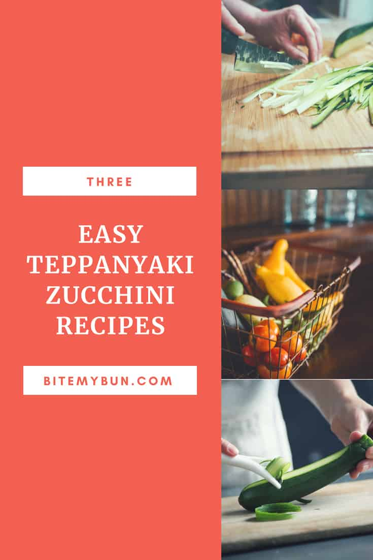 zucchini teppanyaki recipes