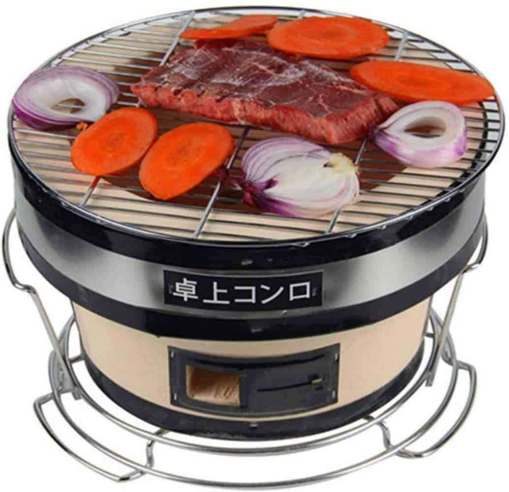 Most durable shichirin: Seny Japanese Ceramic grill