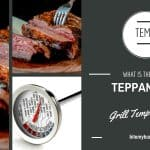 Ideal teppanyaki grill temperature