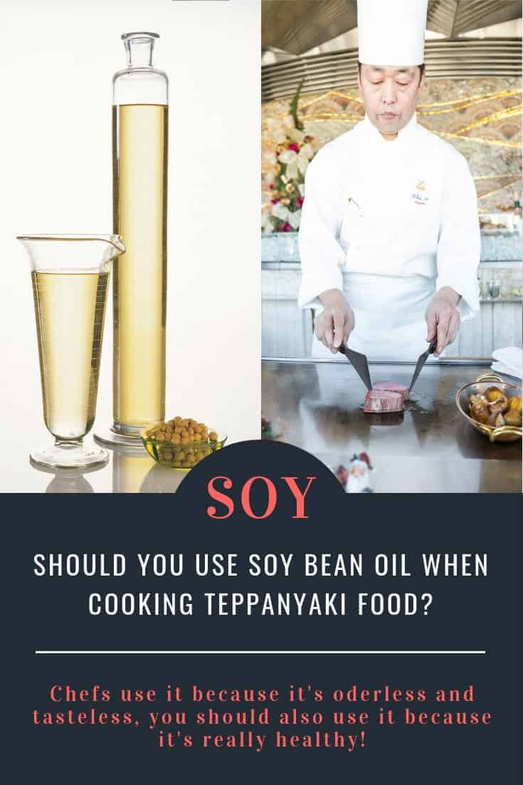 Soy bean oil is tasteless and also very healthy