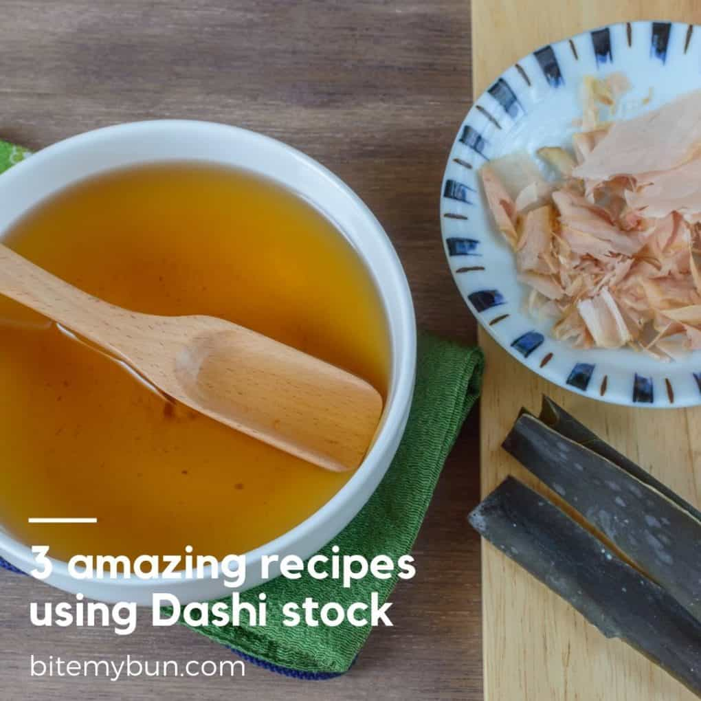3 recipes using dashi stock