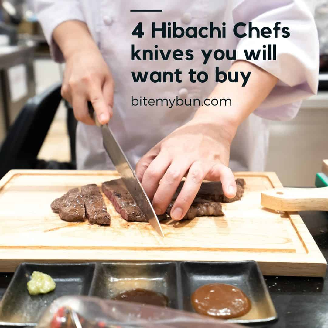 4 hibachi chefs knives to buy