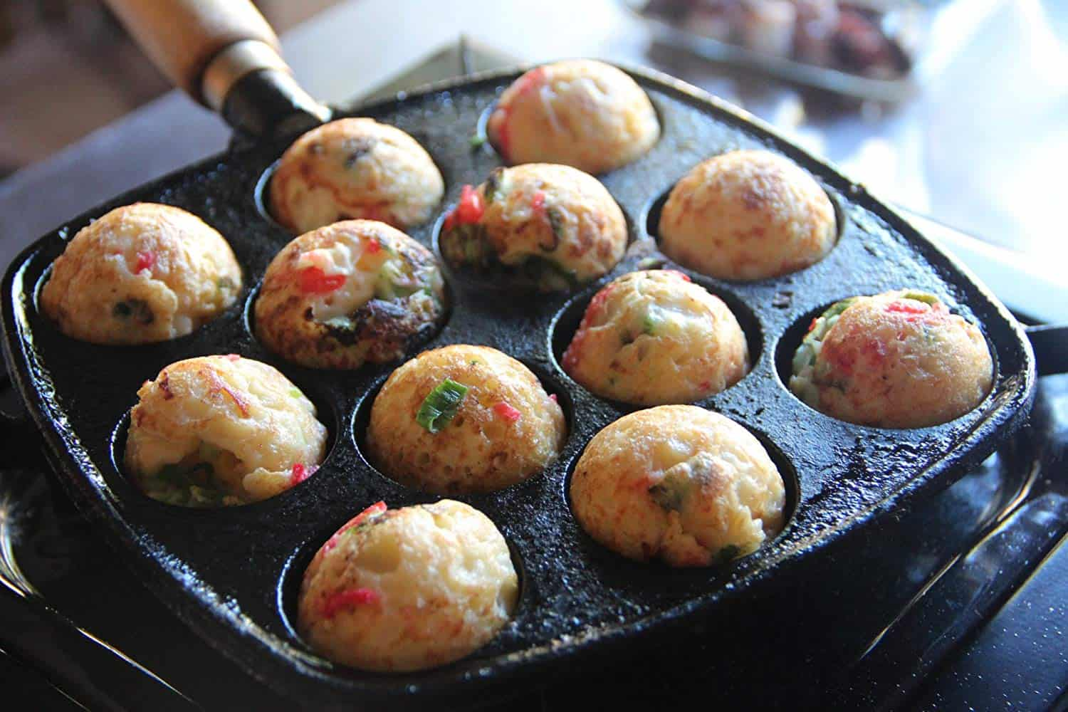 Best cast iron Takoyaki pan