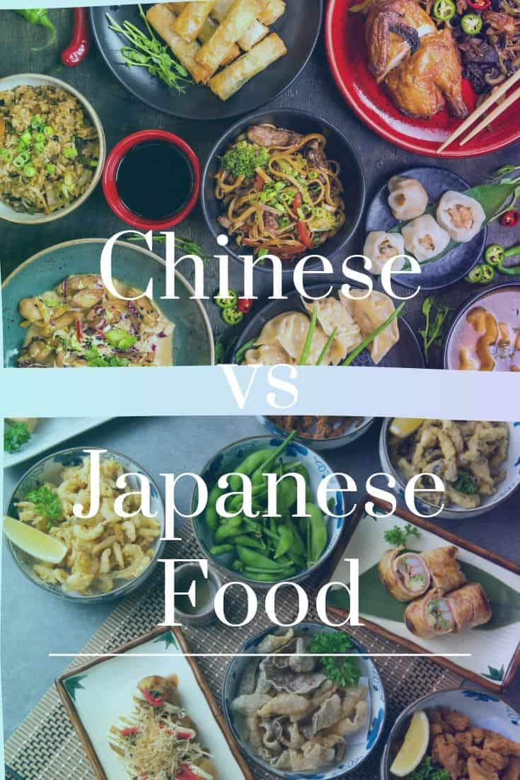 Chinese vs Japanese food