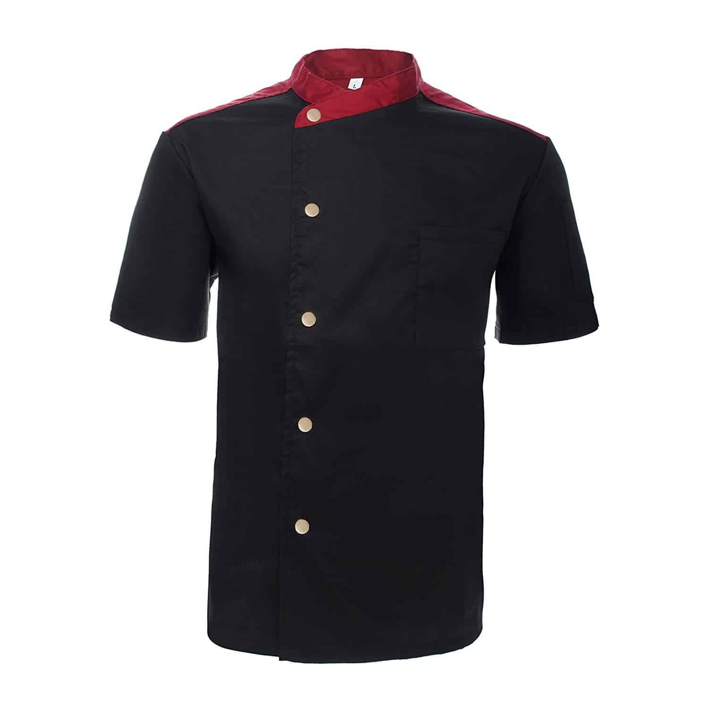 Japanese chef short sleeve jacket