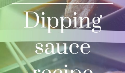 Yakiniku Dipping sauce recipe