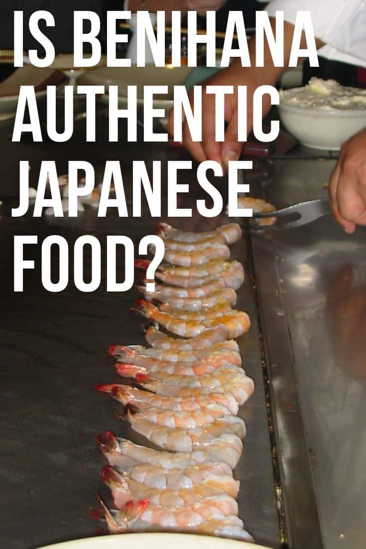 Is Benihana authentiek Japans eten