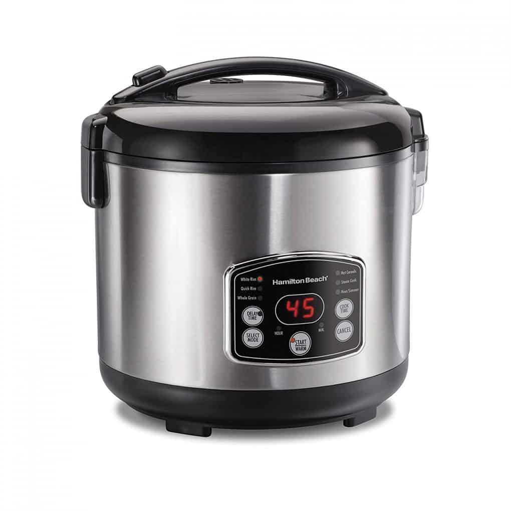 Hamilton beach rice cooker steamer