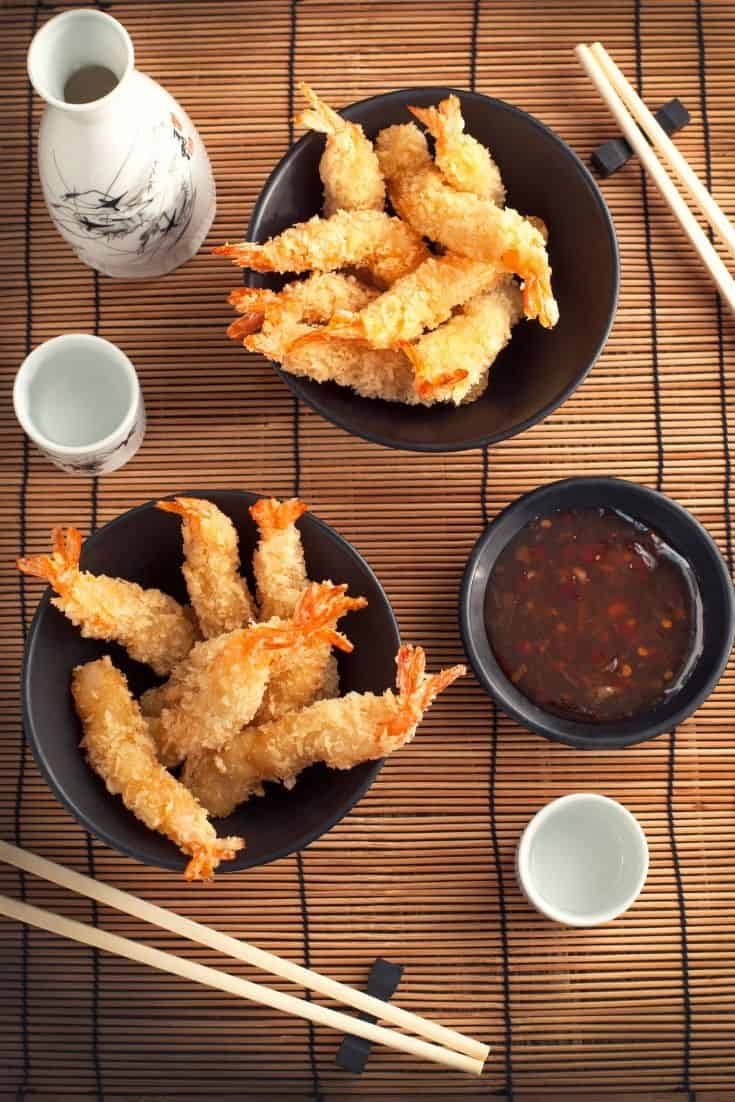 Japanese fried tempura