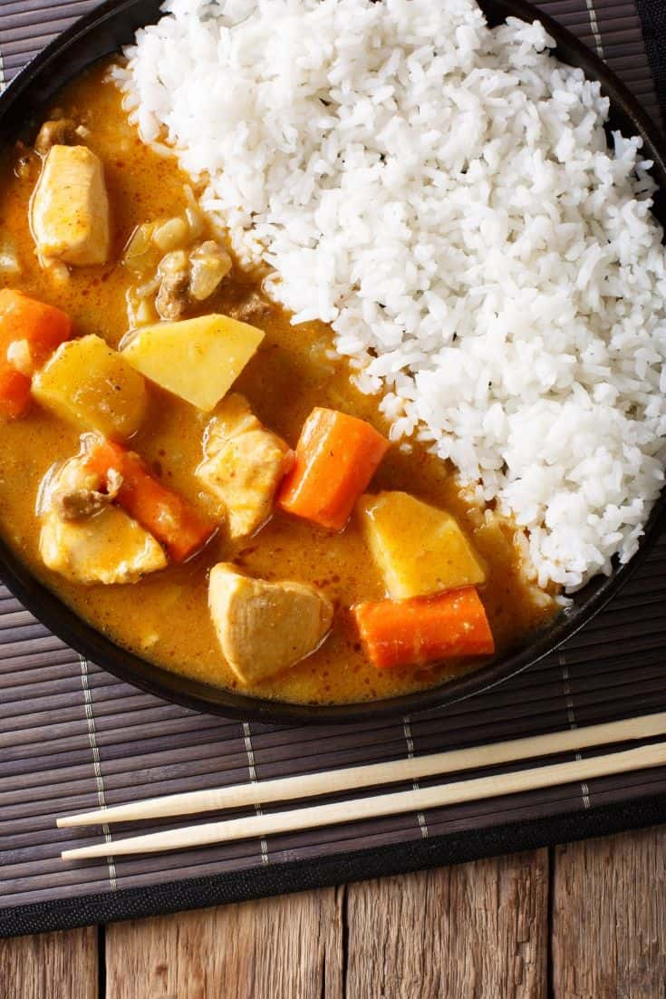 Kare-Raisu Japanese curry rice