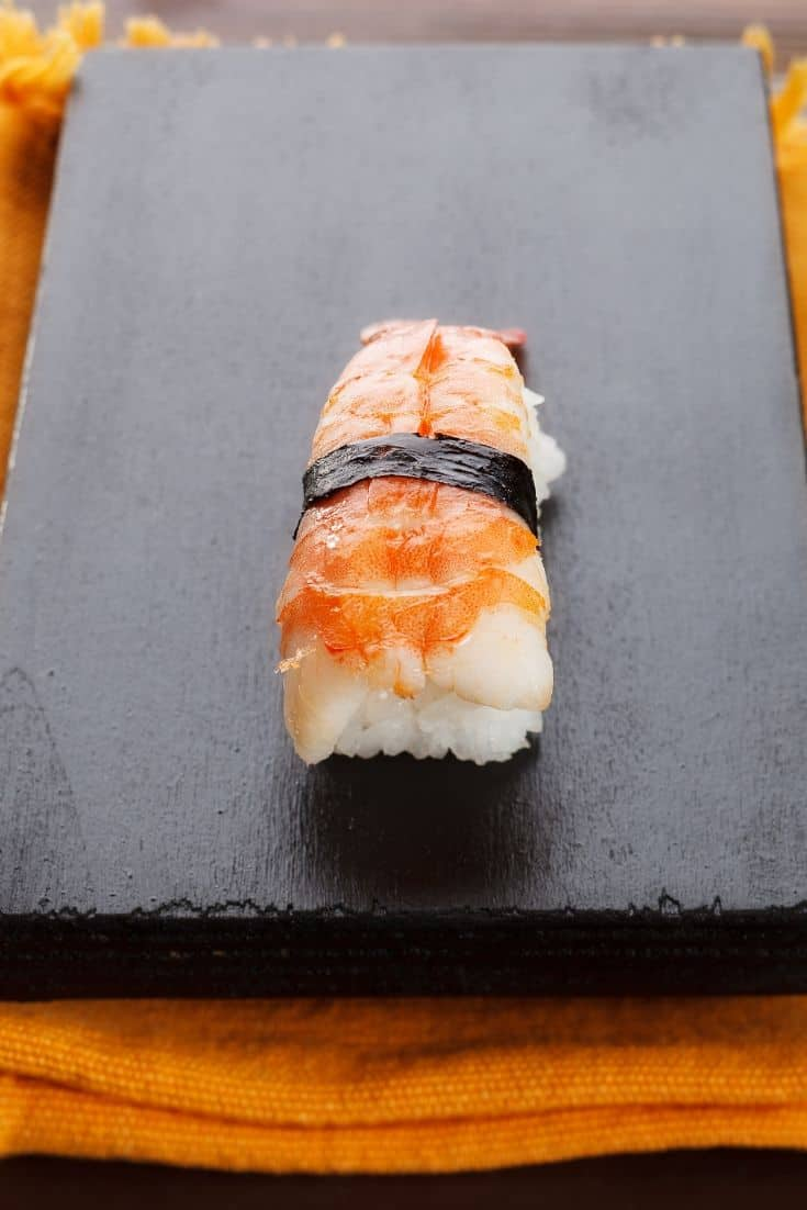 Nigirizushi is one of the sushi types