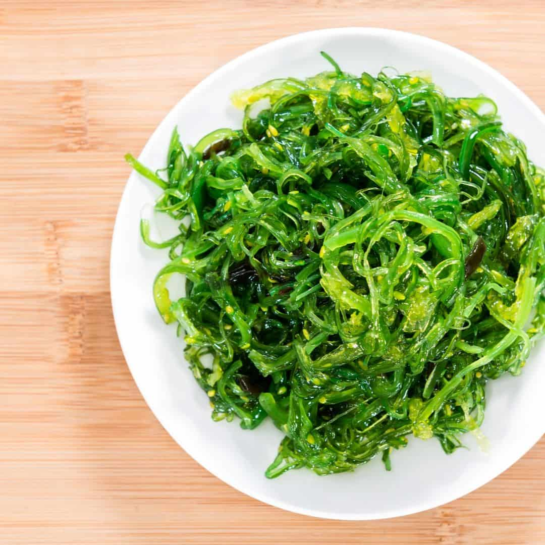 Raw kelp noodles and bean sprouts recipe