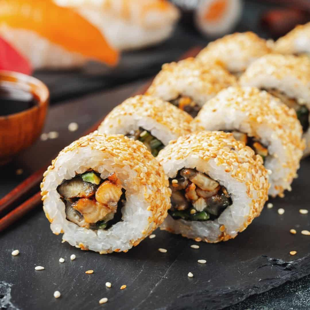 Calories in the eel avocado roll