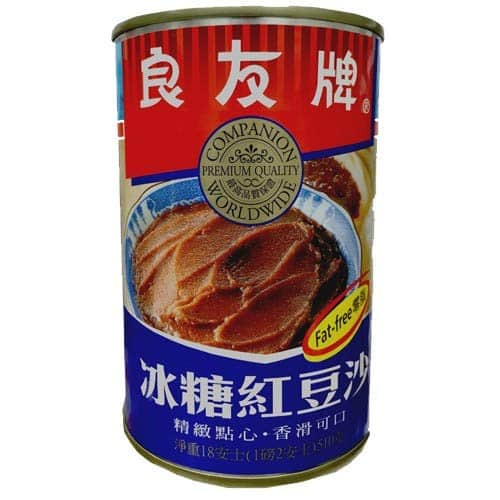 Storebought Companion red bean paste