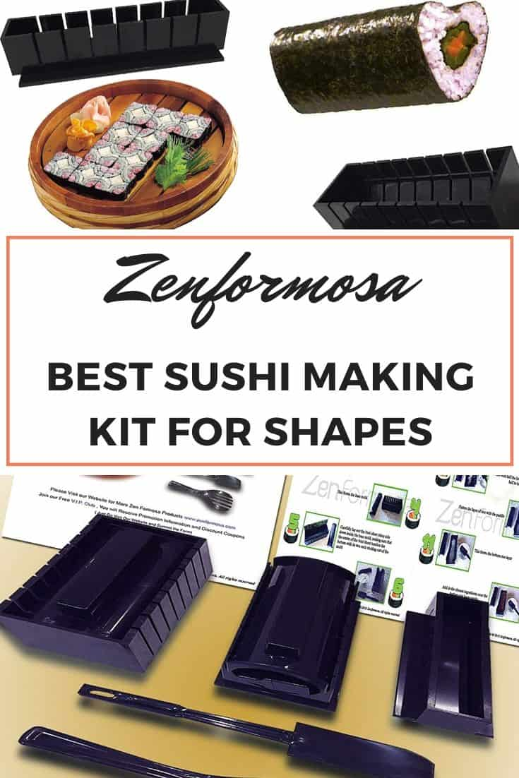 Zenformosa sushi making kit for shapes