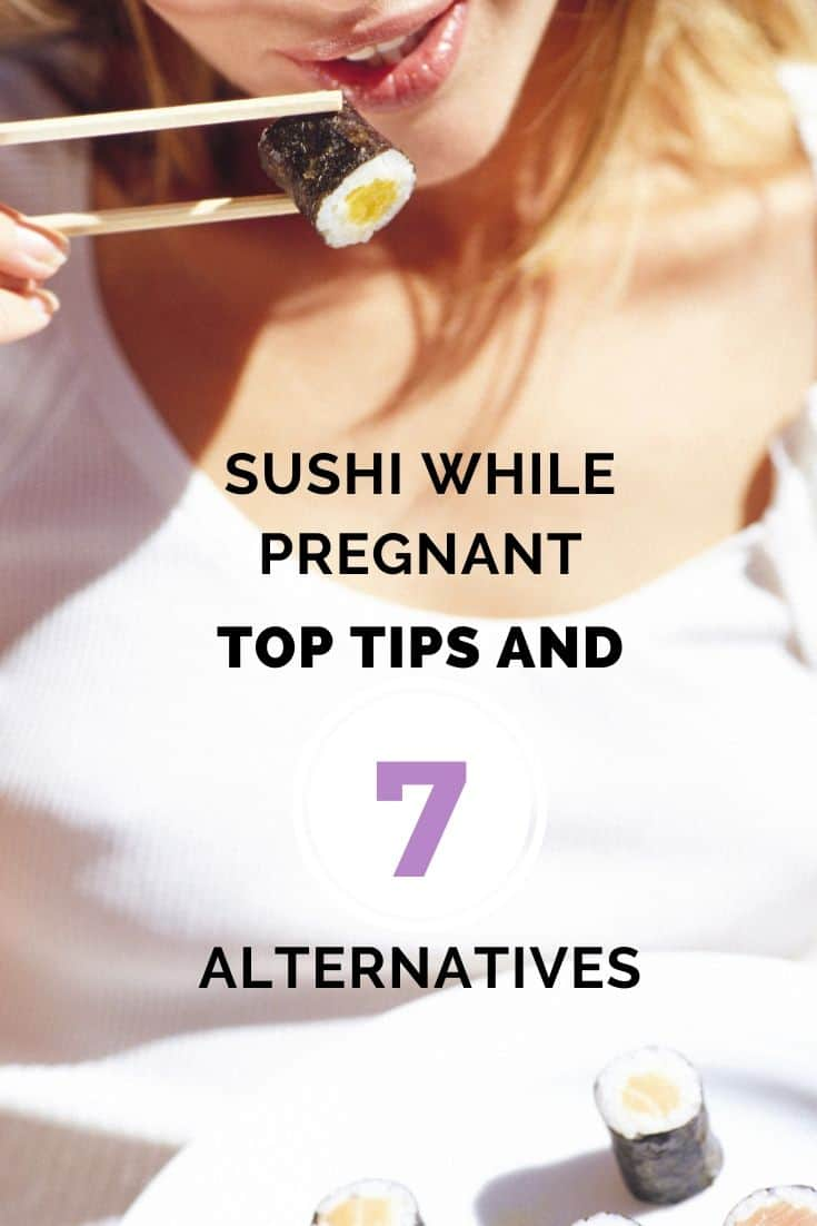 eating sushi while being pregnant