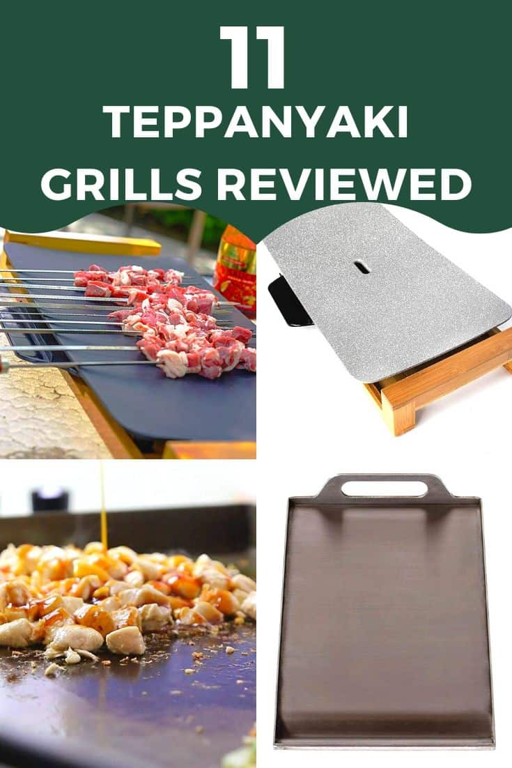11 Teppanyaki Grills for your home review | electric, tabletop & more