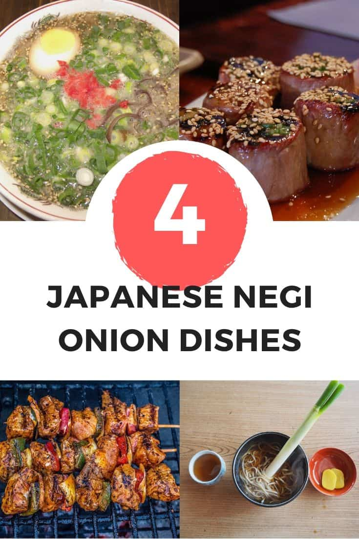 4 Japenese Negi onion dishes