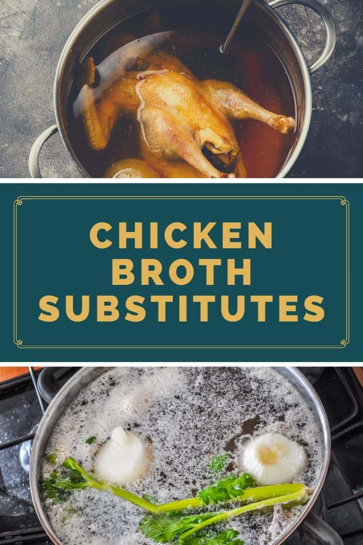 Best chicken broth substitutes
