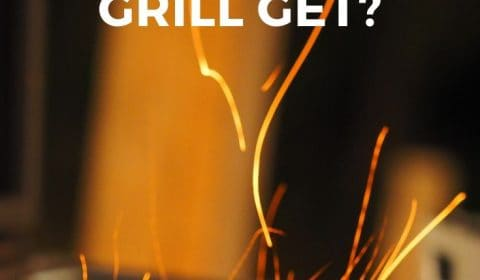 How hot does a hibachi grill get