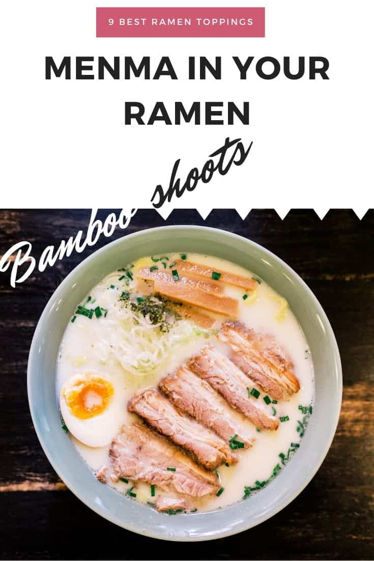 Menma bamboo shoots in your ramen