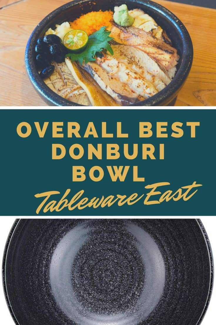 Overall best donburi bowl tableware east