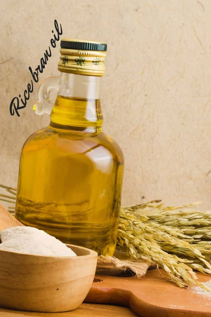 Is rice bran oil good for cooking