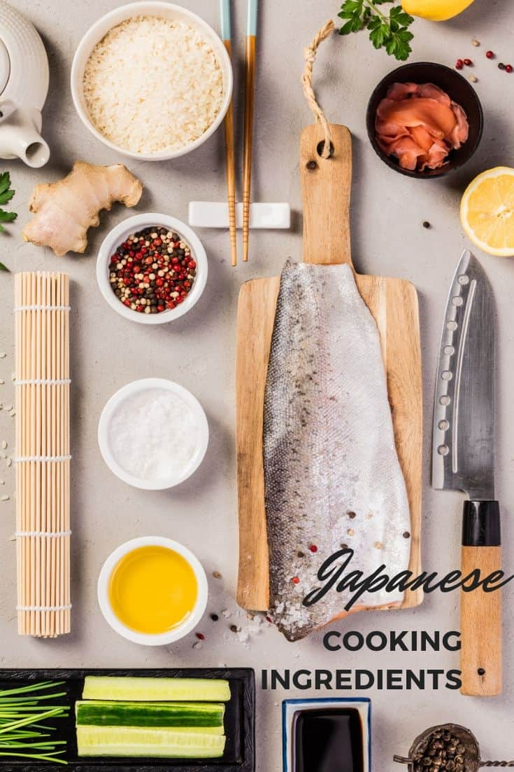 Most popular Japanese cooking ingredients