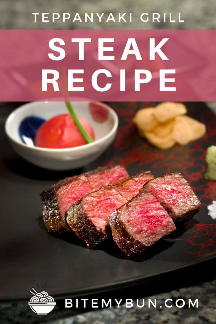 Teppanyaki grill steak recipe