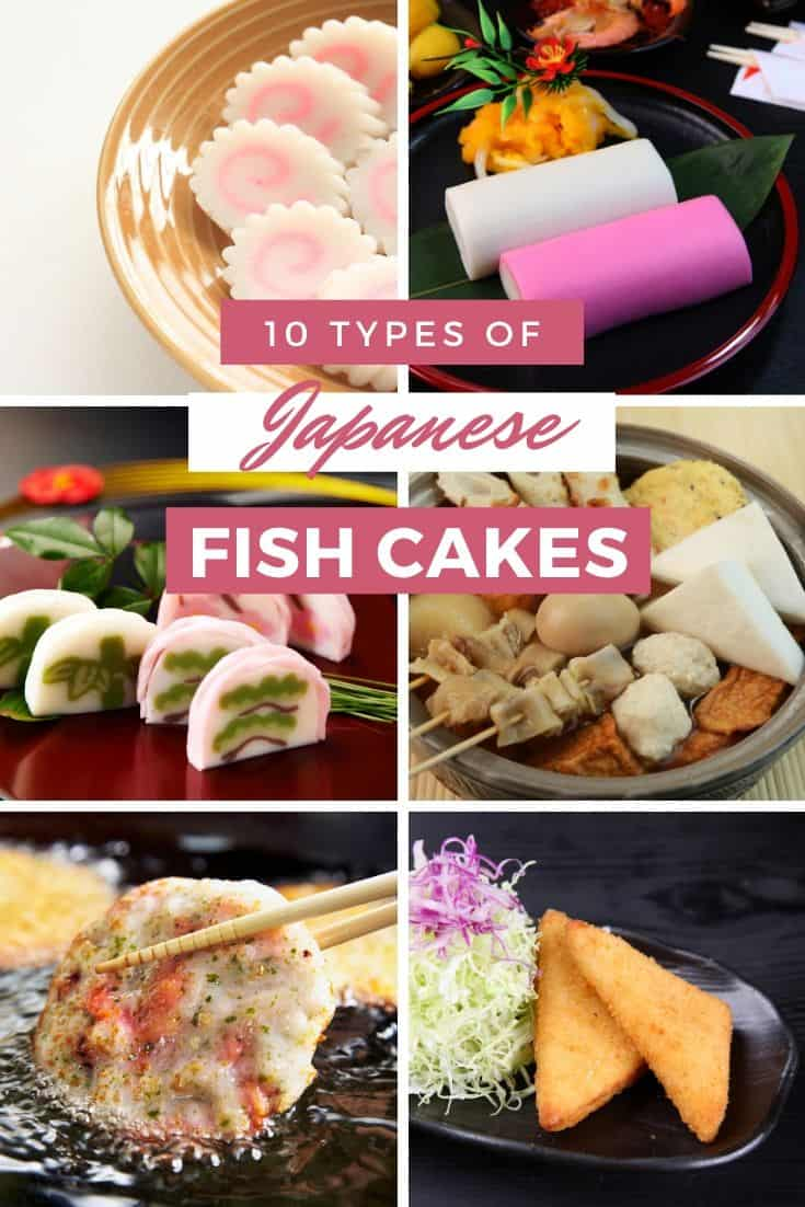 10 types of japanese fish cakes