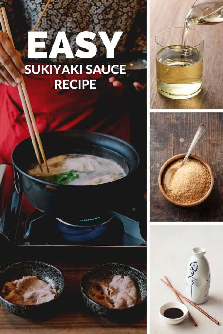 Easy sukiyaki sauce recipe