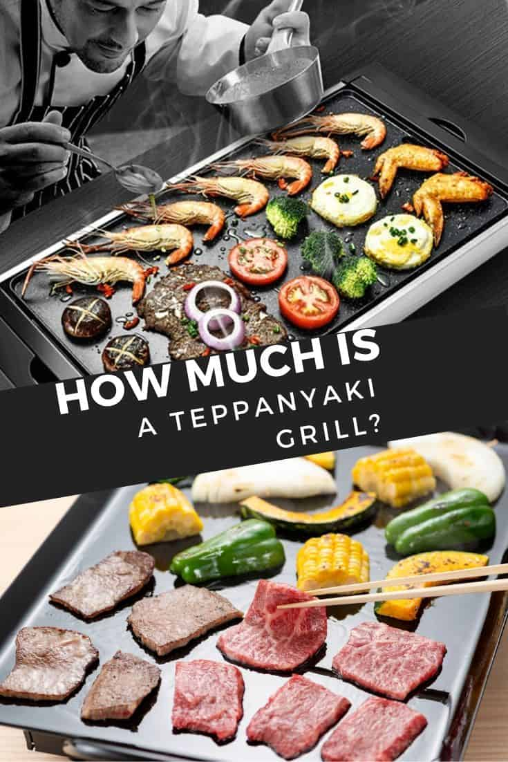 How much is a Teppanyaki grill? These 4 things go into pricing