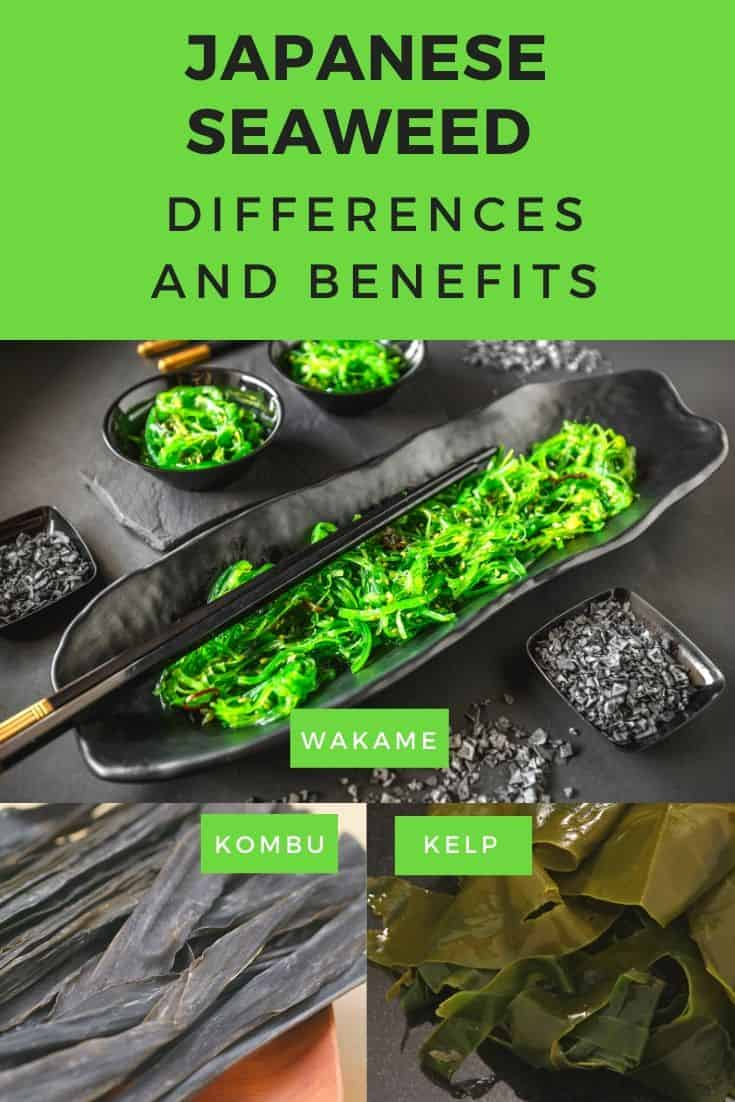 Japanese seaweed differences