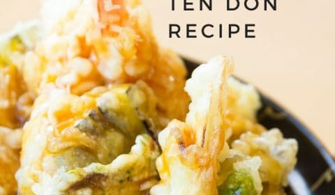 Tempura donburi ten don recipe