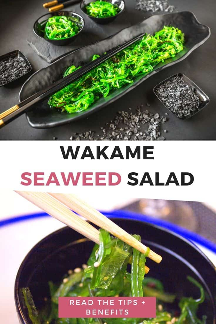 Wakame seaweed salad tips and benefits
