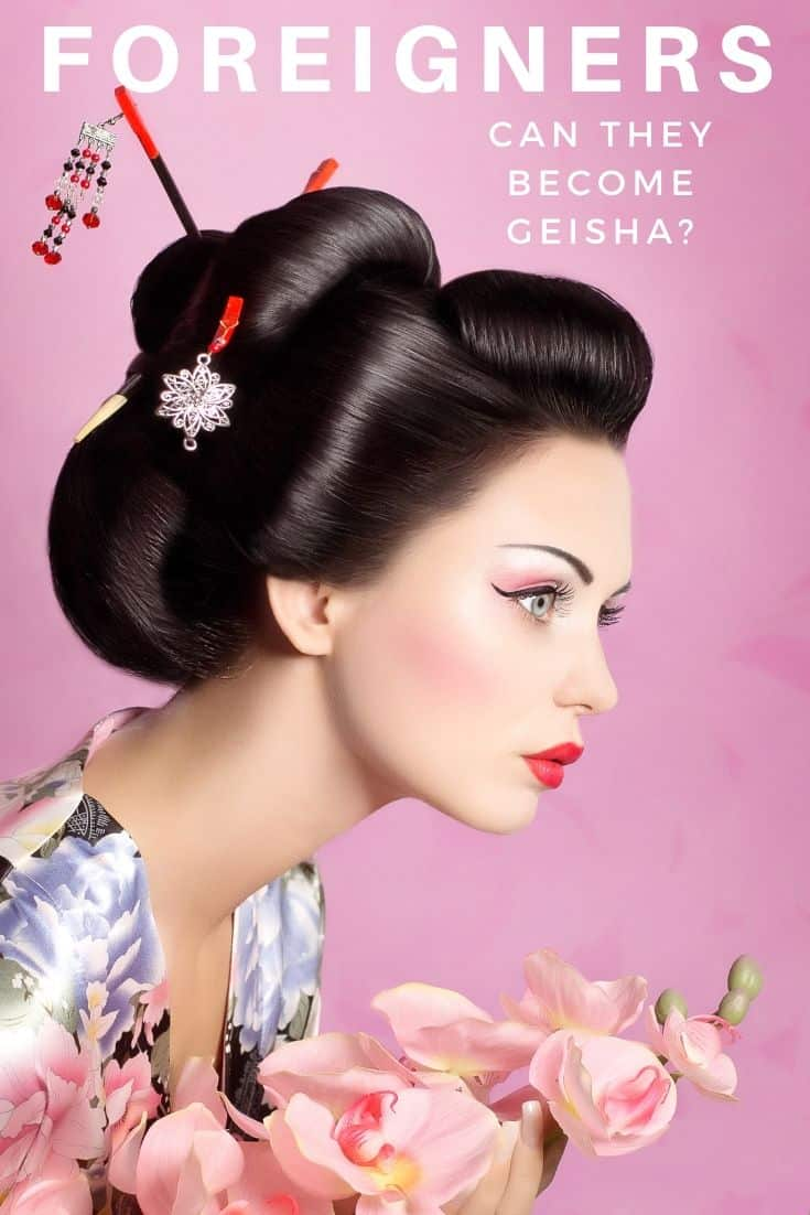 Can foreigners become geisha