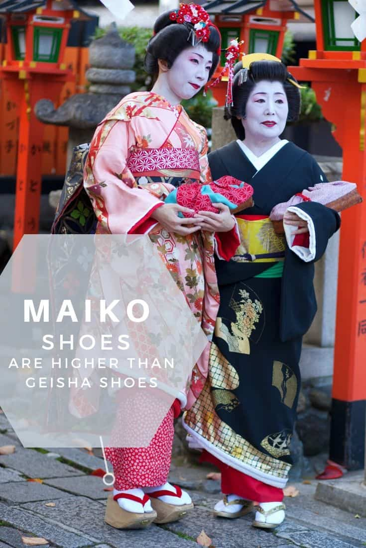 Maiko shoes