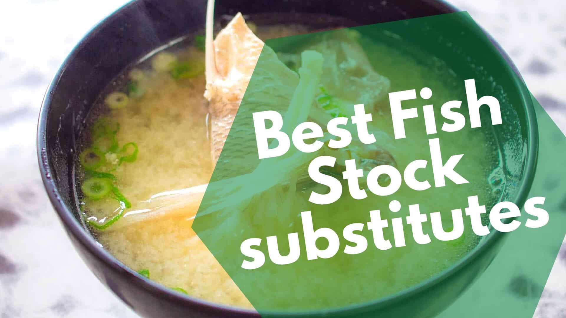 Best Fish Stock substitutes