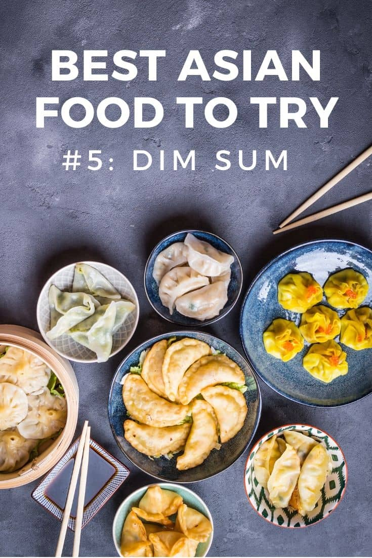 Dim sum of different varieties on a stone slab