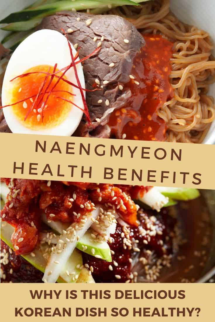 Healthy korean naengmyeon